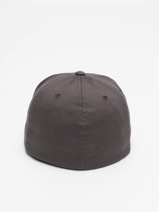 Flexfit Flexfitted Cap Flat Visor szary