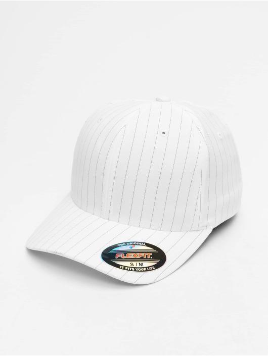 Flexfit Flexfitted Cap Pinstripe weiß
