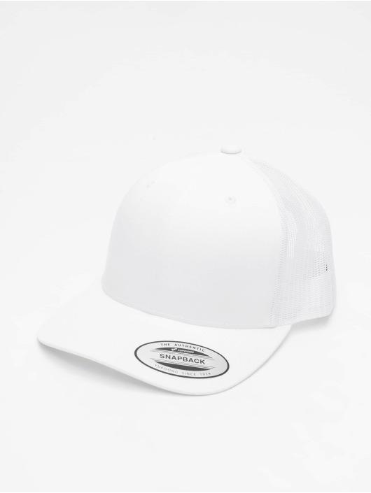 Flexfit Flexfitted Cap Retro weiß