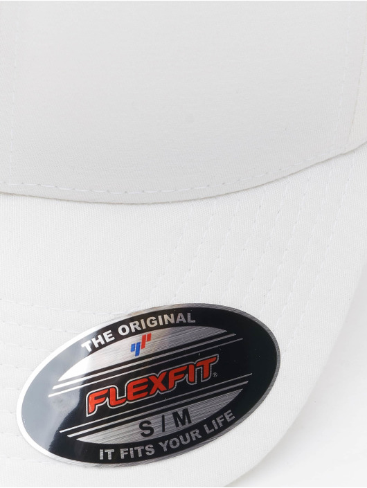 Flexfit Flexfitted Cap Alpha Shape white