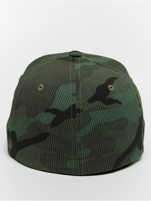 Flexfit Flexfitted-lippikset Camo Stripe camouflage