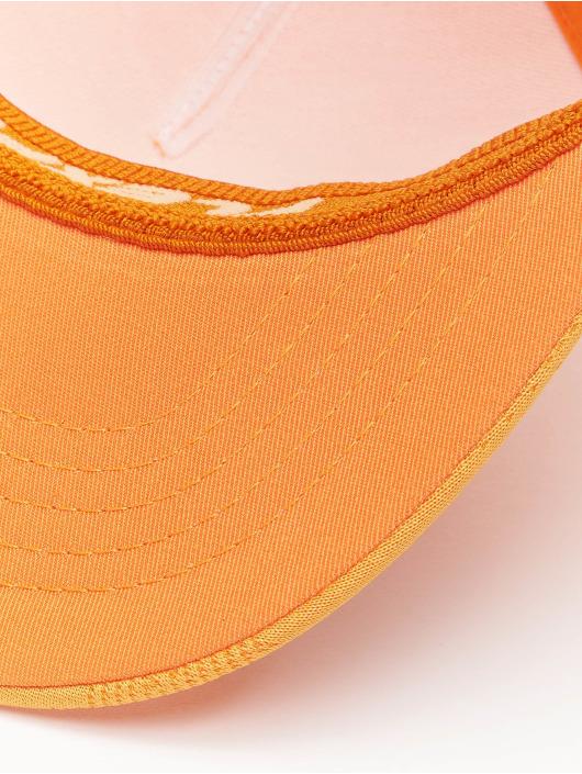 Flexfit Flexfitted-lippikset Jaquard Camo oranssi