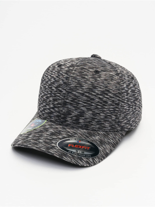 Flexfit Gorras Flexfitted Stripes Melange gris