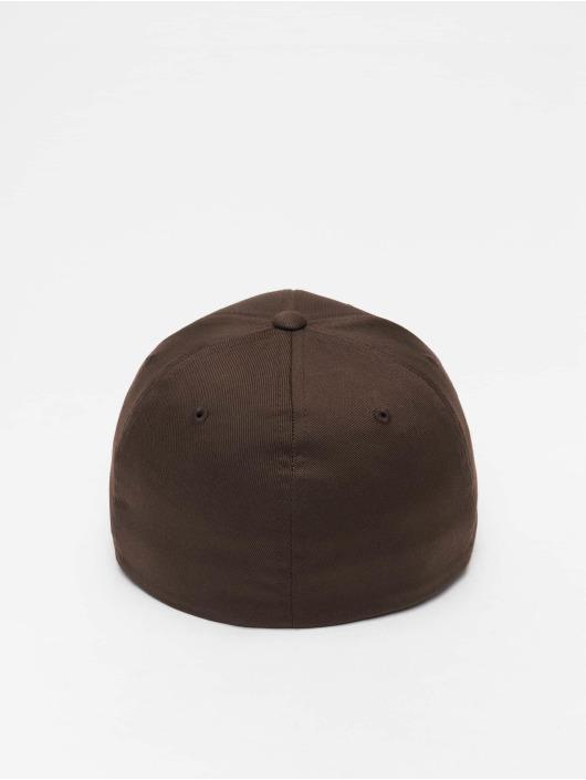 Flexfit Gorras Flexfitted Wooly Combed marrón