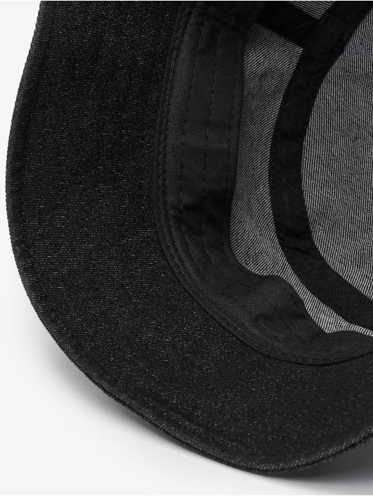 Flexfit hoed Denim Bucket zwart