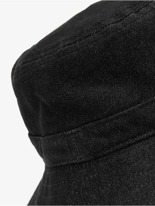 Flexfit Klobúky Denim Bucket èierna