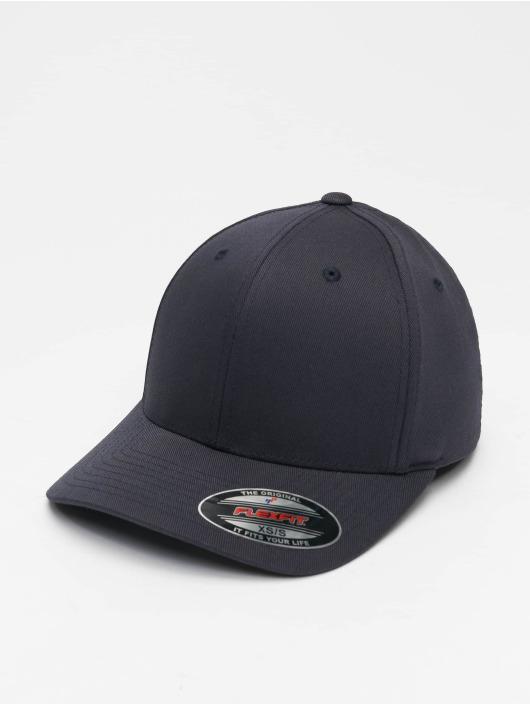 Flexfit Lastebilsjåfør- / flexfitted caps Wooly Combed Flexfitted blå