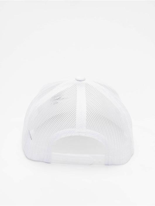 Flexfit Lastebilsjåfør- / flexfitted caps Retro hvit
