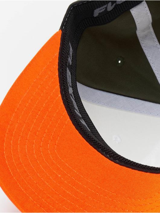 Flexfit Lastebilsjåfør- / flexfitted caps 3-Tone oransje