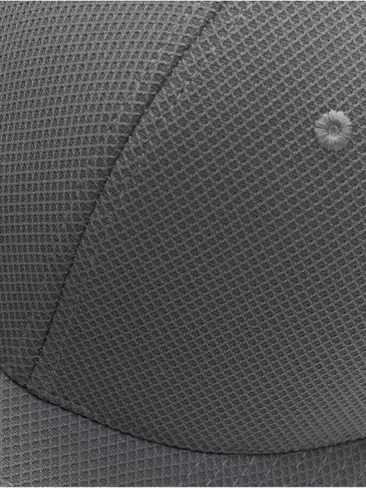 Flexfit Snapback 110 Velcro Hybrid šedá