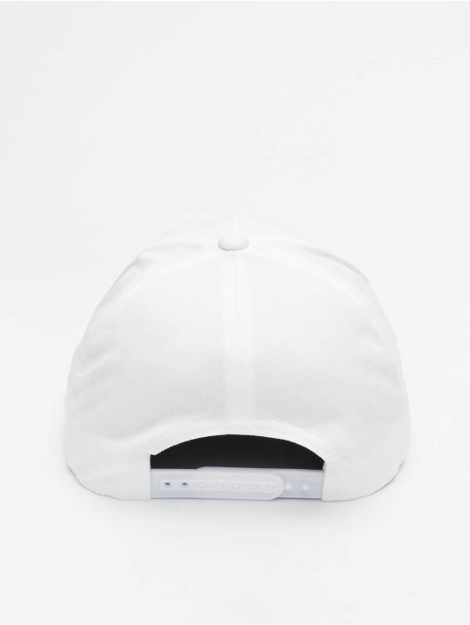 Flexfit Snapback 5-Panel Curved Classic biela
