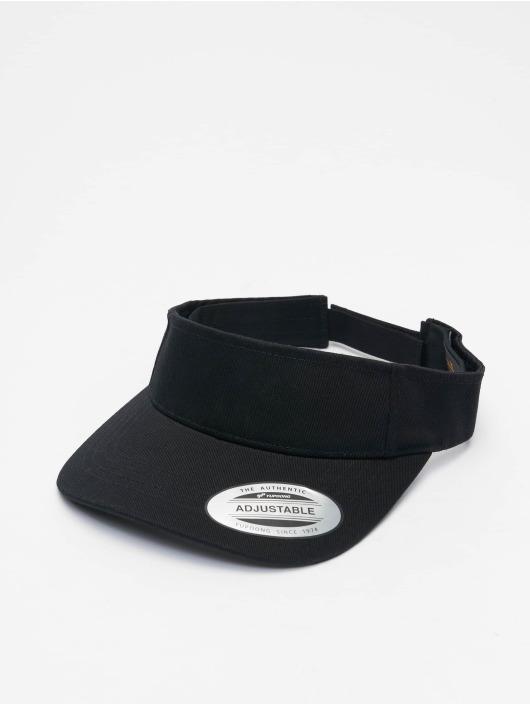 Flexfit Snapback Cap Curved Visor black