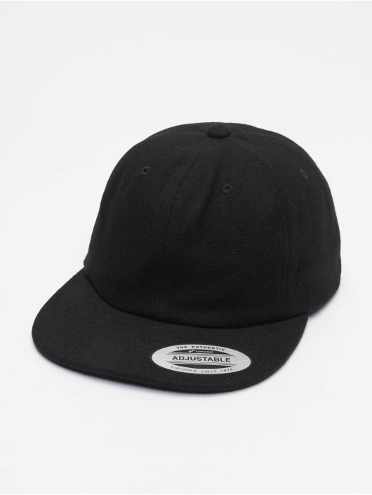 Flexfit Snapback Cap Melton black