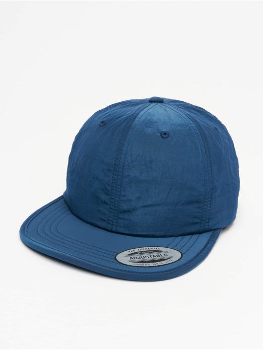 Flexfit Snapback Cap Adjustable Nylon blau
