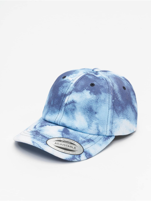 Flexfit Snapback Cap Low Profile Batic Dye blau