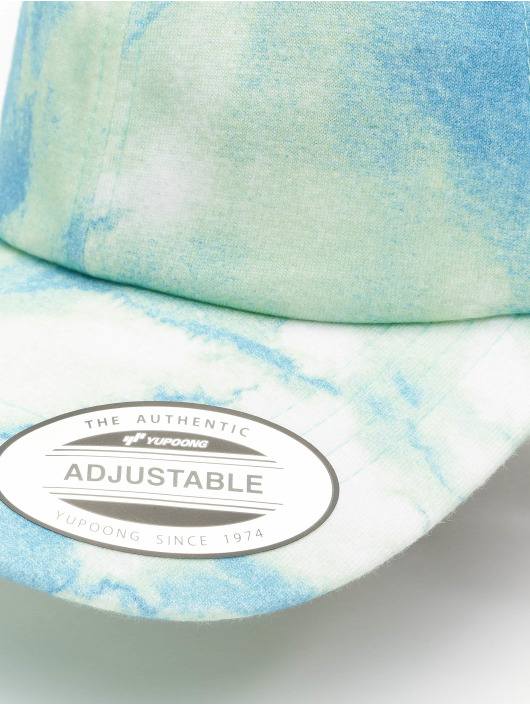 Flexfit Snapback Cap Low Profile Batic Dye blu