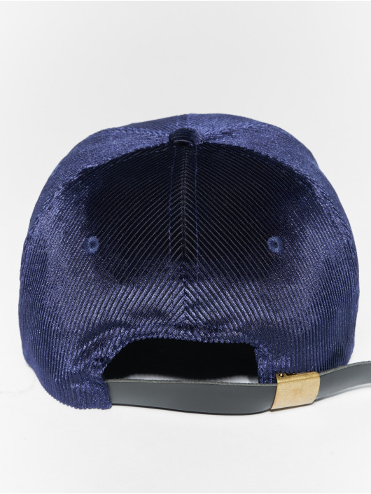 Flexfit Snapback Cap Corduroy Satin Dad blue