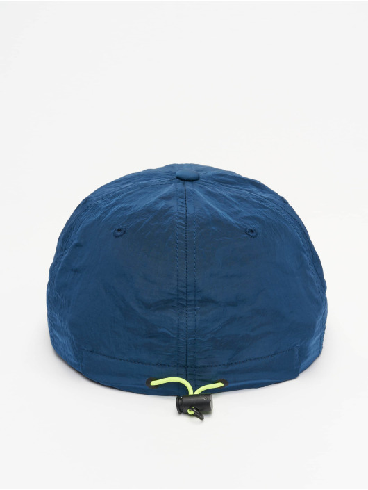 Flexfit Snapback Cap Adjustable Nylon blue