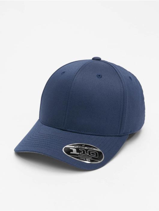 Flexfit Snapback Cap Wooly Combed Adjustable blue