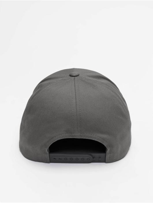 Flexfit Snapback Cap 5-Panel Curved Classic grau