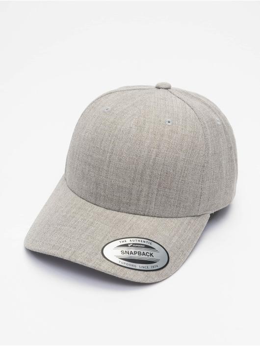 Flexfit Snapback Cap YP Classics 5-Panel Premium Curved Visor gray