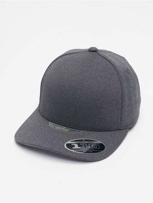 Flexfit Snapback Cap 110 Melange Unipane gray