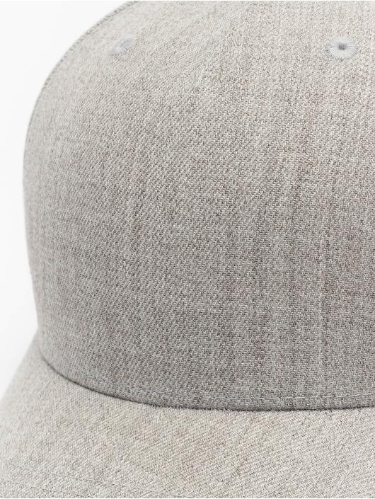 Flexfit Snapback Cap YP Classics 5-Panel Premium Curved Visor grey