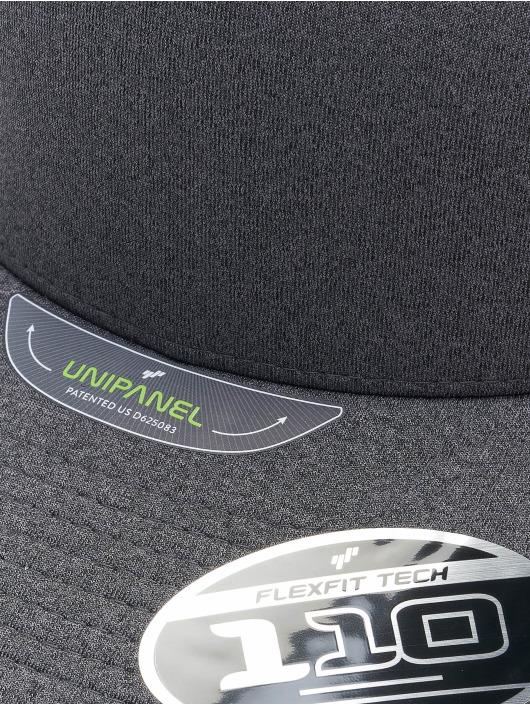 Flexfit Snapback Cap 110 Melange Unipane grey