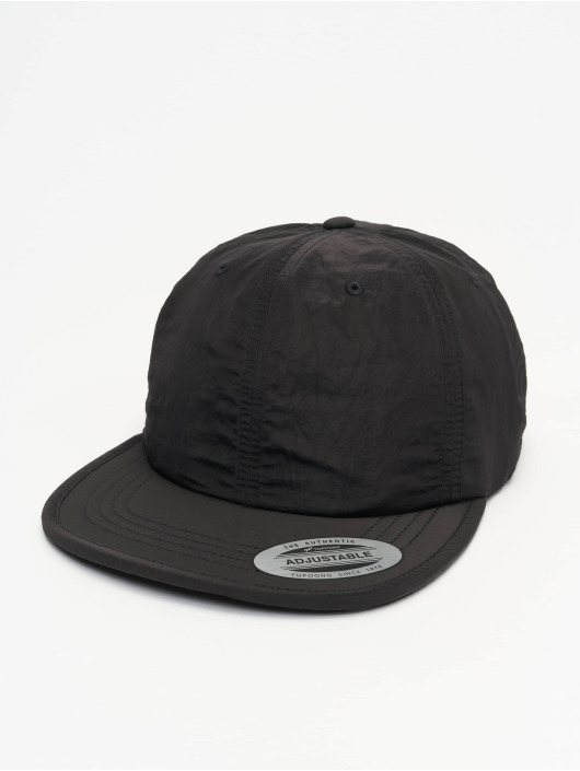 Flexfit Snapback Cap Adjustable Nylon nero