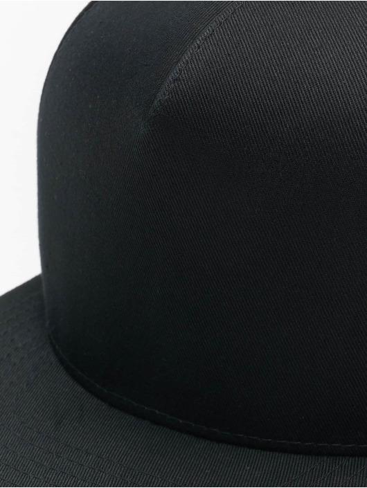 Flexfit Snapback Cap Classic 5 Panel schwarz
