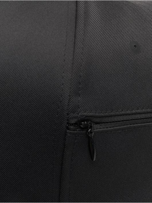 Flexfit Snapback Cap 110 Pocket schwarz