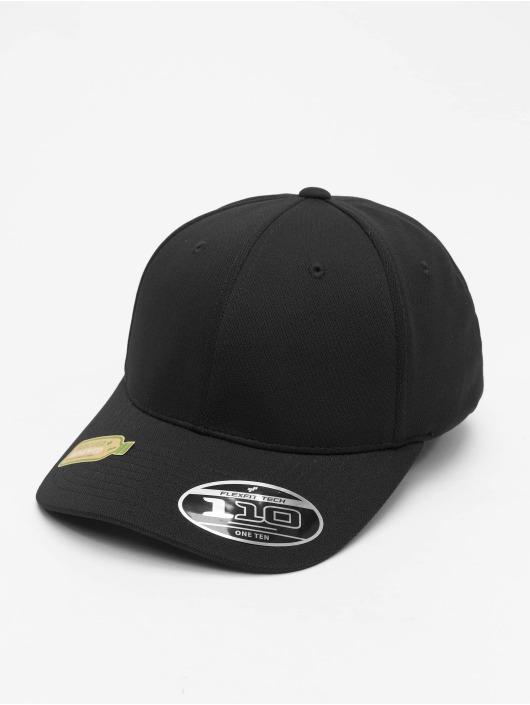 Flexfit Snapback Cap 110 Recycled Poly Jersey schwarz