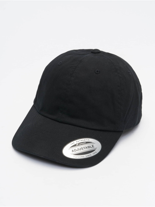 Flexfit Snapback Cap Ecowash Dad schwarz