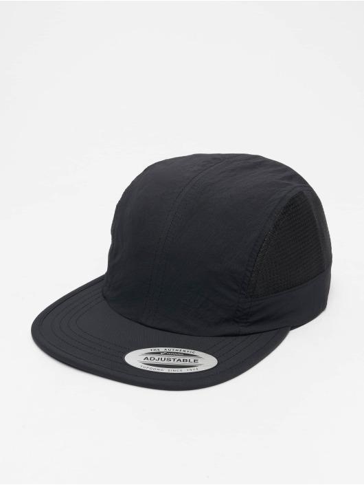Flexfit Snapback Cap Nylon schwarz