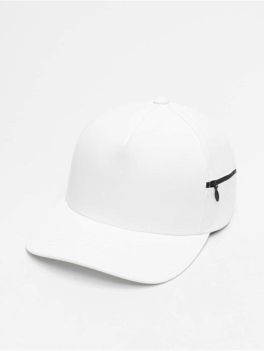 Flexfit Snapback Cap 110 Pocket weiß