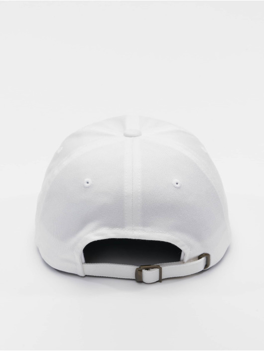 Flexfit Snapback Cap Low Profile Organic Cotton white