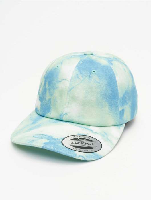 Flexfit Snapback Caps Low Profile Batic Dye blå