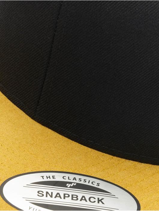 Flexfit Snapback Caps Boots Suede czarny