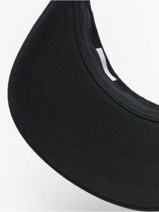 Flexfit Snapback Caps Curved Visor czarny