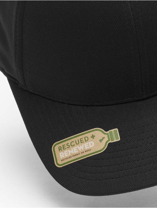Flexfit Snapback Caps 110 Recycled Poly Jersey czarny