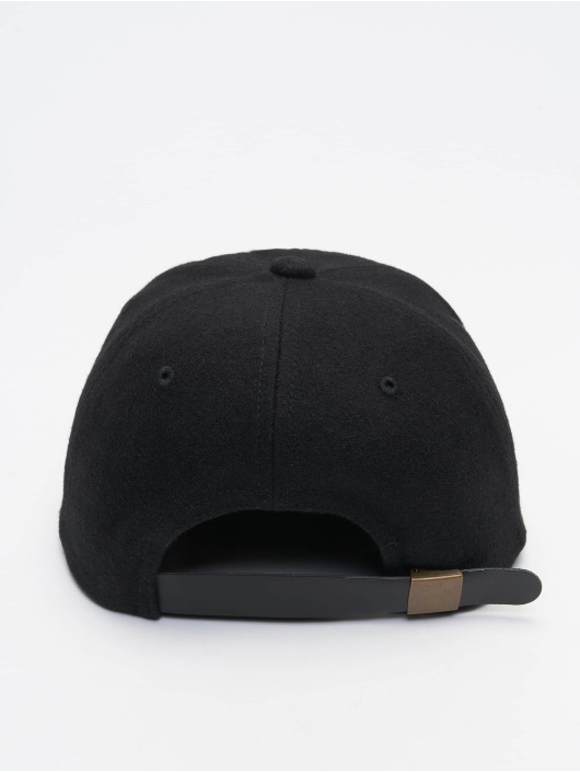 Flexfit Snapback Caps Melton czarny