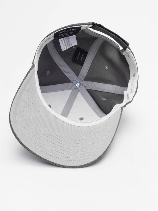 Flexfit Snapback Caps 110 Velcro Hybrid grå