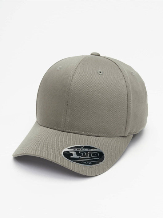 Flexfit Snapback Caps Wooly Combed Adjustable grå