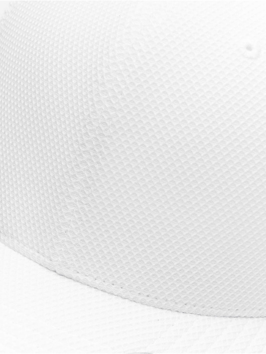 Flexfit Snapback Caps Velcro Hybrid hvit