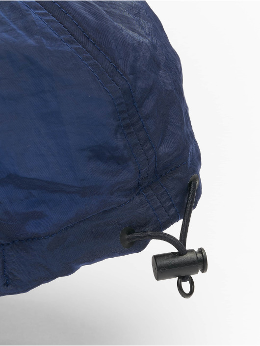 Flexfit Snapback Caps Adjustable Nylon modrý