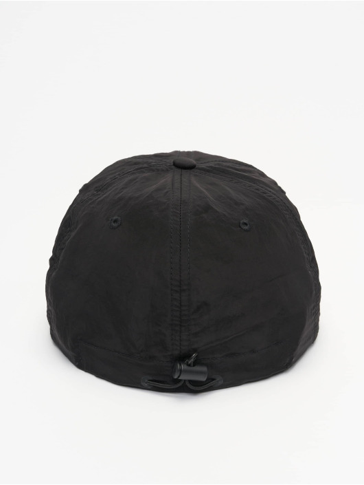Flexfit Snapback Caps Adjustable Nylon musta