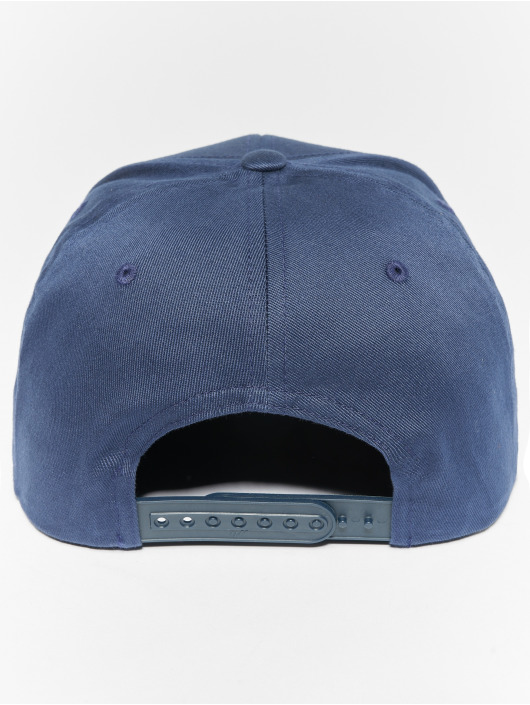 Flexfit Snapback Caps Organic Cotton niebieski