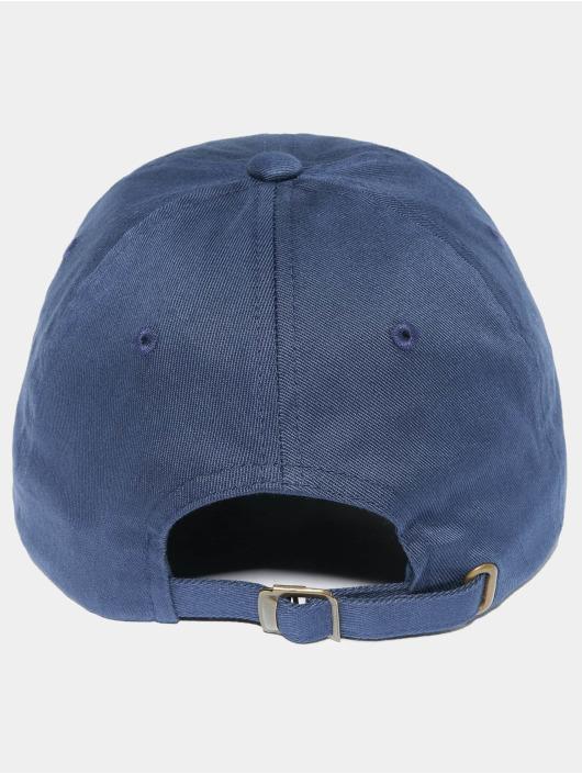 Flexfit Snapback Caps Low Profile niebieski