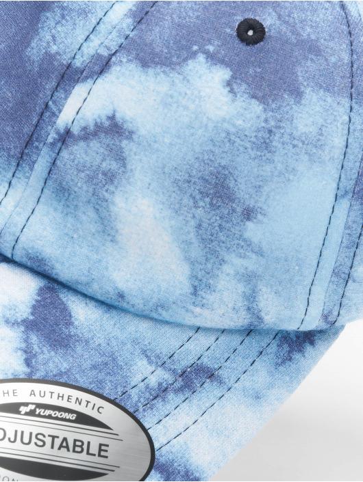Flexfit Snapback Caps Low Profile Batic Dye niebieski