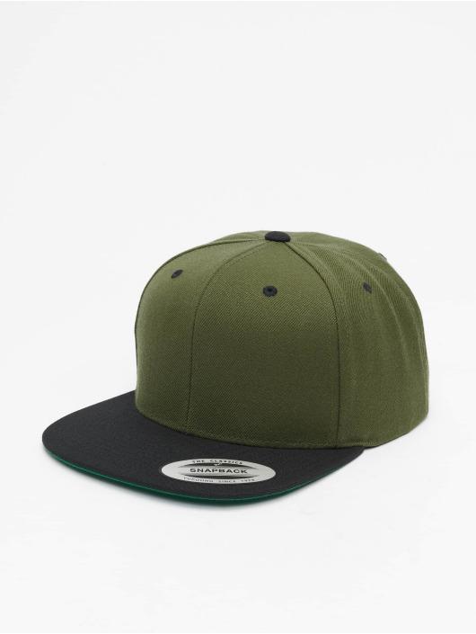 Flexfit Snapback Caps Classic Two Tone oliven